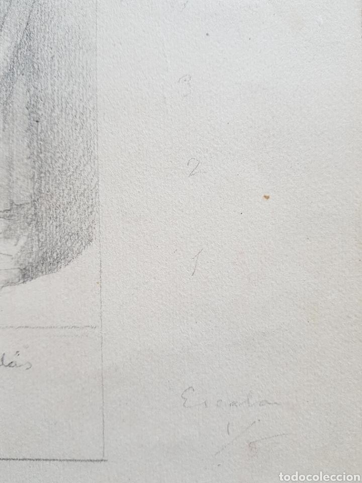 Arte: Dario Vilás Fernández (1880- 1950) - 2 Dibujos Religiosos.Tinta y Grafiti.Firmados. - Foto 4 - 158522858