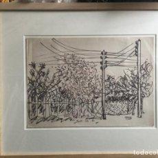 Arte: MANUEL ÁNGELES ORTIZ , DIBUJO ORIGINAL CON CERTIFICADO. Lote 158595810