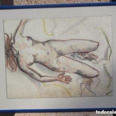 Arte: CUADRO DESNUDO FEMENINO. Lote 158815006