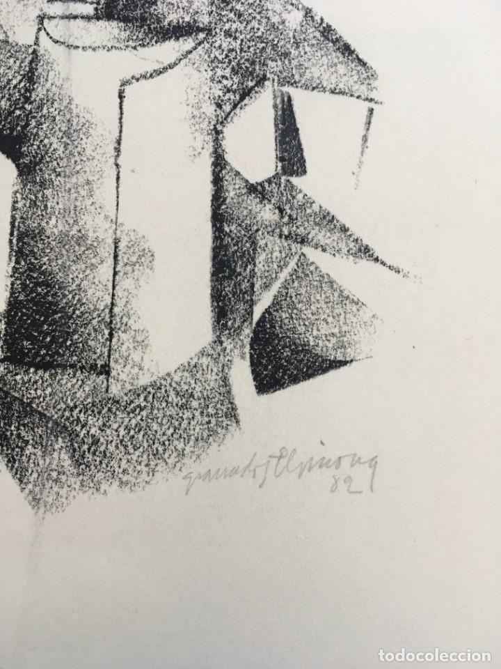 Arte: Dibujo sobre papel de Granados Llimona, año 1982 - Foto 3 - 158932038
