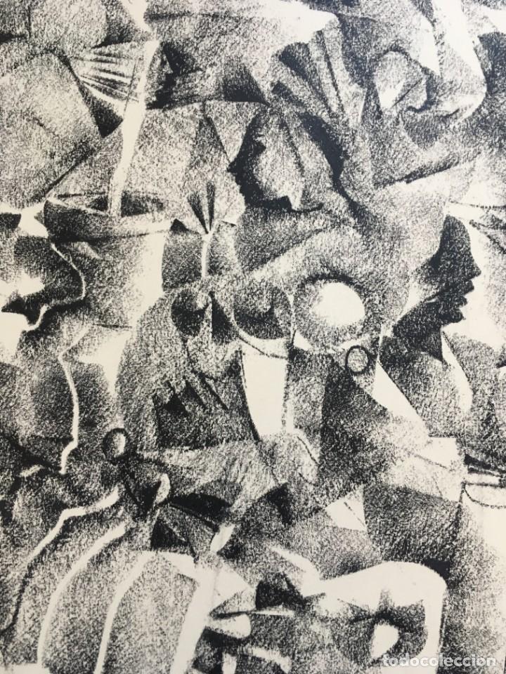Arte: Dibujo sobre papel de Granados Llimona, año 1982 - Foto 4 - 158932038