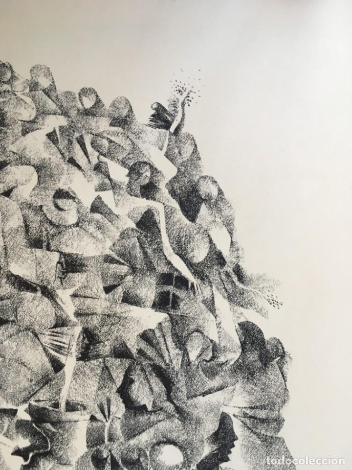 Arte: Dibujo sobre papel de Granados Llimona, año 1982 - Foto 6 - 158932038