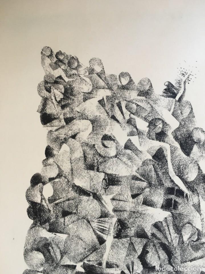 Arte: Dibujo sobre papel de Granados Llimona, año 1982 - Foto 7 - 158932038