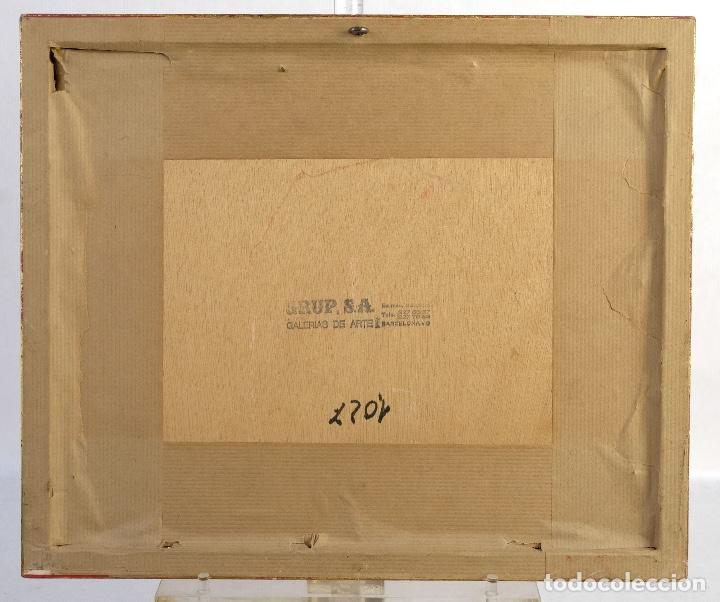 Arte: Francesc Serra Castellet (1912-1976) Dibujo al carboncillo Bailarina firmado - Foto 5 - 159126930