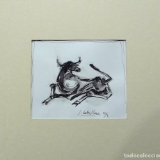 Arte: J. CABALLERO, TECNICA MIXTA FIRMADO. Lote 159676274