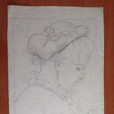 Arte: JOSÉ PALACIO. DAMA.. Lote 159718902