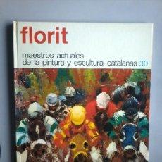 Arte - JOSÉ MARÍA FLORIT. DIBUJO DEDICATORIA ORIGINAL EN LIBRO DE RAFAEL SANTOS TORROELLA. RARO. - 159756598
