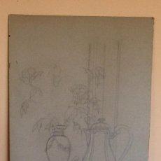 Arte: DIBUJO PARA CHRISTOFLE- FRANCIA.. TAHER CHEMIRIK. ENVIO CERTIFICADO INCLUIDO.. Lote 159837102