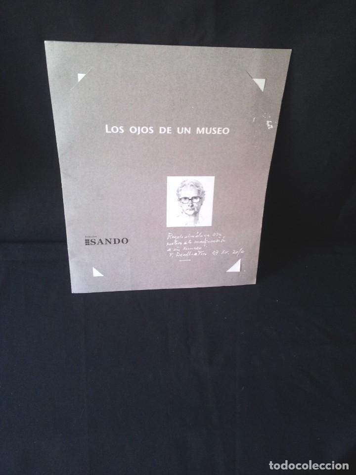 FELIX REVELLO DE TORO - LOS OJOS DE UN MUSEO - TRIPTICO CON 3 LAMINAS (Arte - Dibujos - Contemporáneos siglo XX)