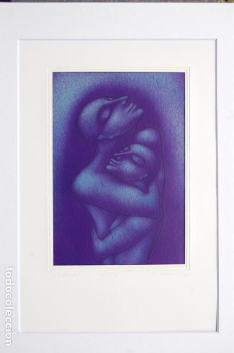 Arte: Firma sin identificar . Precioso dibujo de 15x21,5 enmarcado en 32x42. - Foto 11 - 160606238