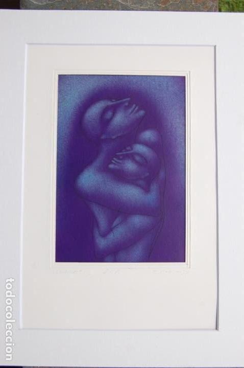 Arte: Firma sin identificar . Precioso dibujo de 15x21,5 enmarcado en 32x42. - Foto 13 - 160606238