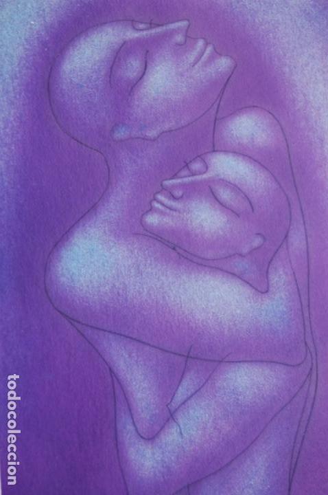 Arte: Firma sin identificar . Precioso dibujo de 15x21,5 enmarcado en 32x42. - Foto 16 - 160606238