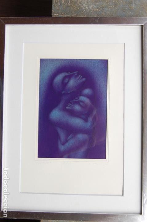 Arte: Firma sin identificar . Precioso dibujo de 15x21,5 enmarcado en 32x42. - Foto 21 - 160606238