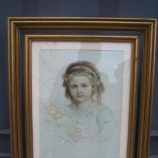 Arte: DIBUJO ANTIGUO DE JOSEPH FELÓN. NICE 1856. BURDEOS. FRANCIA. Lote 160669006