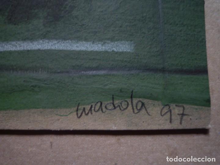 Arte: MADOLA. COLLAGE I PINTURA ORIGINAL SOBRE CARTÓN - Foto 2 - 160705750
