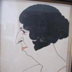 Arte: CARICATURA DEDICADA ROMÀ BONET BON (BARCELONA 1886-1967). Lote 160982054