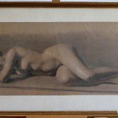 Arte: DESNUDO - JOSÉ TEXIDOR - 1850. Lote 161762454
