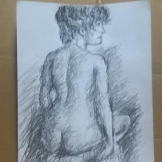 Arte: DIBUJO EROTICO ORIGINAL. Lote 161859878
