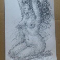 Art: DIBUJO EROTICO ORIGINAL. Lote 161860554