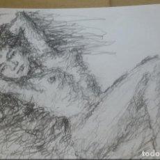 Arte: DIBUJO EROTICO ORIGINAL. Lote 161860846