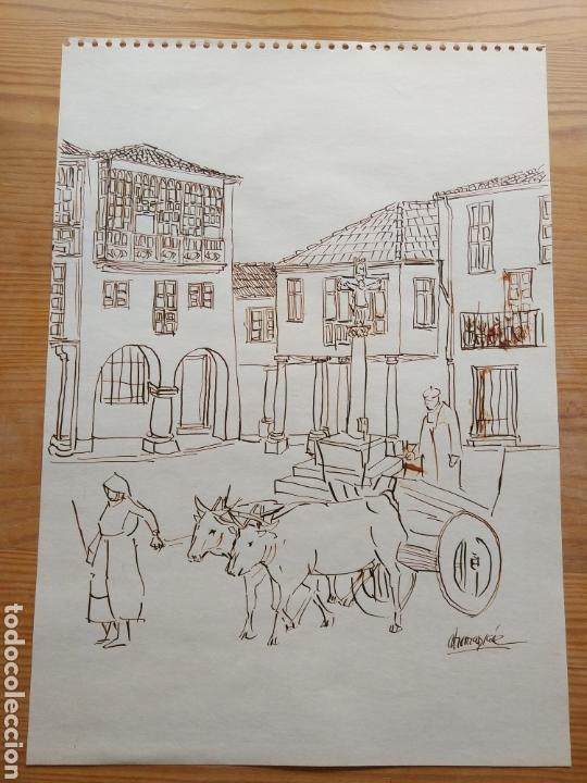 DIBUJO HERNANSAEZ (Arte - Dibujos - Contemporáneos siglo XX)