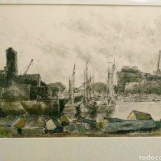 Arte: BALEYGUIER FRANCIA 1956. SABLES DOLONNE. . ENVIO CERTIFICADO INCLUIDO.. Lote 163027754