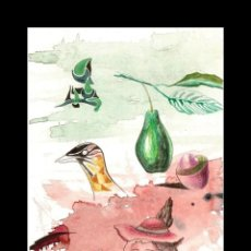 Art: DIBUJO A TINTA-ACUARELA-GRAFITO DE GUIRADO. Lote 163465714