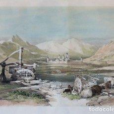 Arte: VISTA DE EL ESCORIAL. AUTOR: ROBERTS, DAVID (1796-1864). Lote 163492834