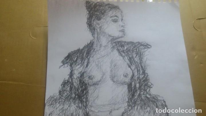 Arte: Dibujo chica posando original - Foto 2 - 163906726
