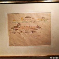 Arte: EL RHIN POR JOSEP AMAT (1901-91). Lote 163954809