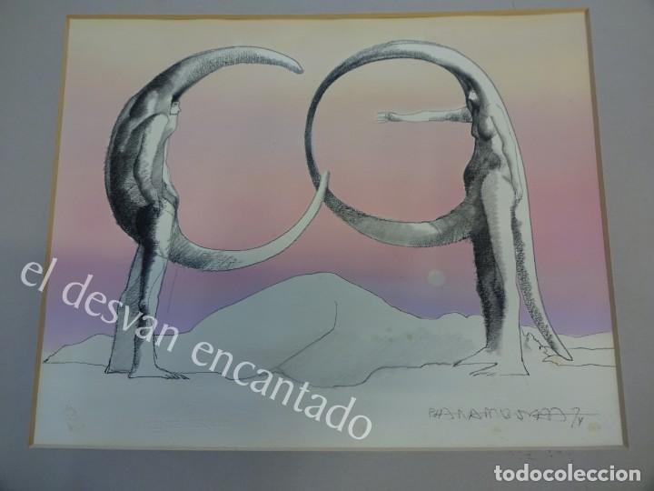 PLA NARBONA. ALFABETO SURREAL I. OBRA ORIGINAL CON CERTIFICADO. 31 X 25 CTMS (Arte - Dibujos - Contemporáneos siglo XX)