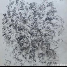 Arte: DIBUJO ALMAS PERDIDAS 2 GUERRA MUNDIAL ORIGINAL. Lote 164572466