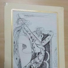 Arte: DIBUJO A BOLIGRAFO DEL PINTOR CANARIO.TONY GRECO.AÑO 1994. Lote 73775179