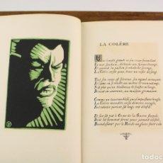 Arte: LES VICES CAPITAUX, F. C. LONCHAMP, MAQUETA PREPARATORIA CON ORIGINALES, 1922, EDICIÓN ÚNICA.. Lote 165033538