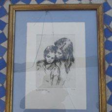 Arte: CARBONCILLO R. MACARRÓN. Lote 165168546