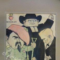 Arte - Feliu ELIAS i BRACONS (APA) 1878-1948. Dibujo original portada PAPITU nº 74. 21x18 ctms - 165460070