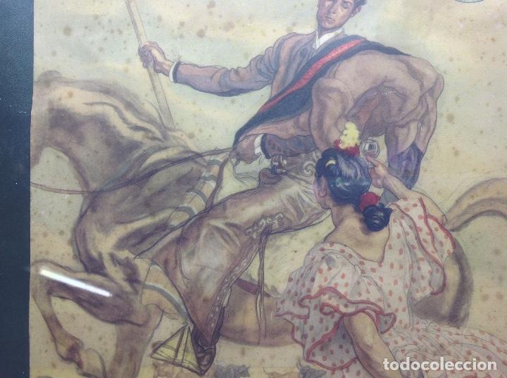 Arte: LITOGRAFIA ANTIGUA - CARLOS SAEZ DE TEJADA - PEDRO DOMECQ JEREZ DE LA FRONTERA - PUBLICIDAD FUNDADOR - Foto 7 - 165471142