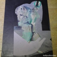 Arte: DIBUJO ACRÍLICO DE CARLES PUJOL.. Lote 165689122