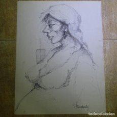 Arte: DIBUJO ROTULADOR PLANAS PUIG.. Lote 165689342