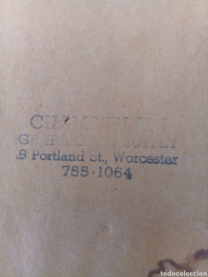 Arte: INTERESANTE CARICATURA ORIGINAL DE PHIL BISSELL 1968. - Foto 5 - 165870828
