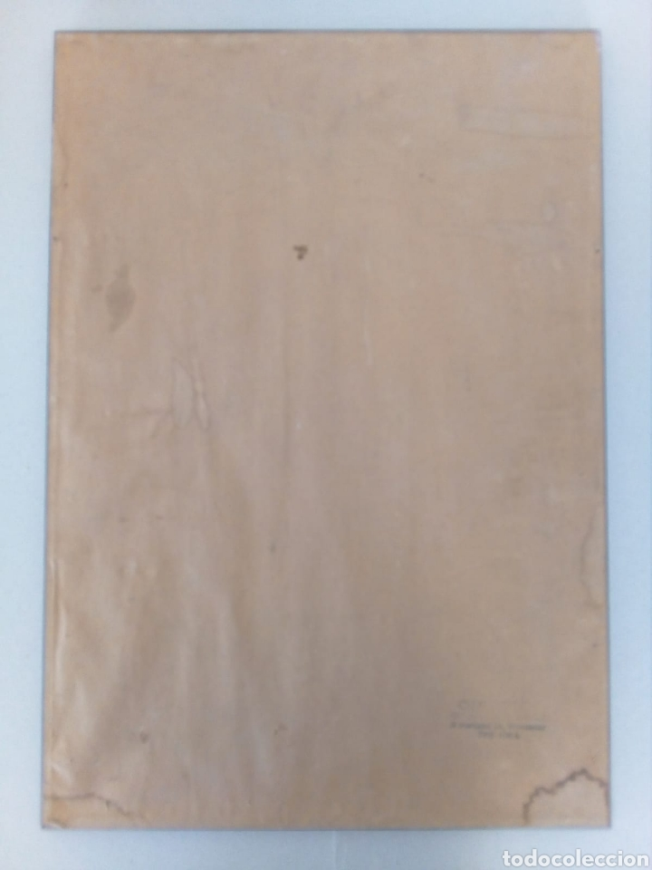 Arte: INTERESANTE CARICATURA ORIGINAL DE PHIL BISSELL 1968. - Foto 6 - 165870828