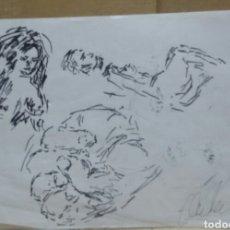 Arte: BOCETOS ORIGINAL. Lote 166016830