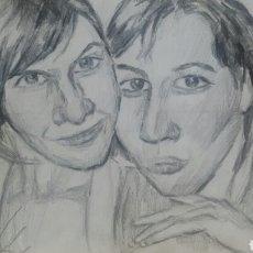 Arte: AMIGAS ORIGINAL. Lote 166049762