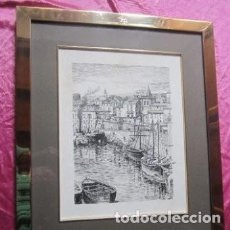 Arte: CUADRO DE ALFONSO IGLESIAS CREADOR DE PININ TELVA Y PINON DE 45 X 54 CM. DE MUSEO. Lote 166166530