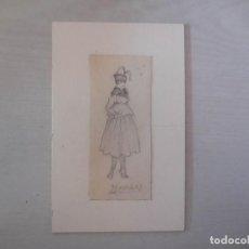 Arte: DIBUJO. FIRMA PENAGOS. C. 1930. ORIGINAL¡¡¡. Lote 166609054