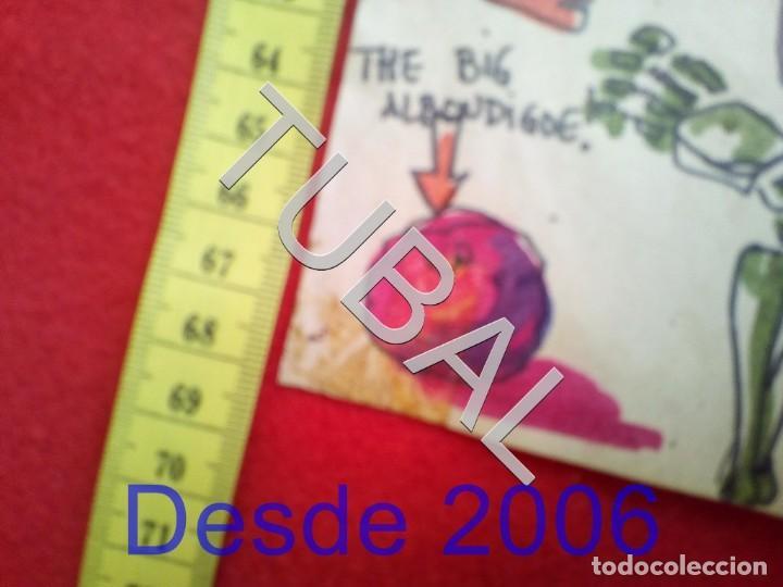 Arte: TUBAL DIBUJO SURREALISTA DE RAFAEL DE COZAR 1973 FONDO LIBRERIA FULMEN SEVILLA GRUPIC - Foto 5 - 166690673