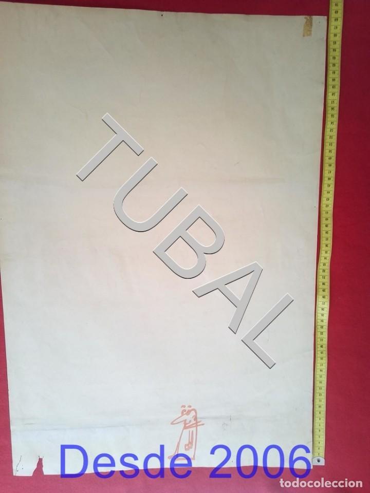 Arte: TUBAL DIBUJO SURREALISTA DE RAFAEL DE COZAR 1973 FONDO LIBRERIA FULMEN SEVILLA GRUPIC - Foto 8 - 166690673