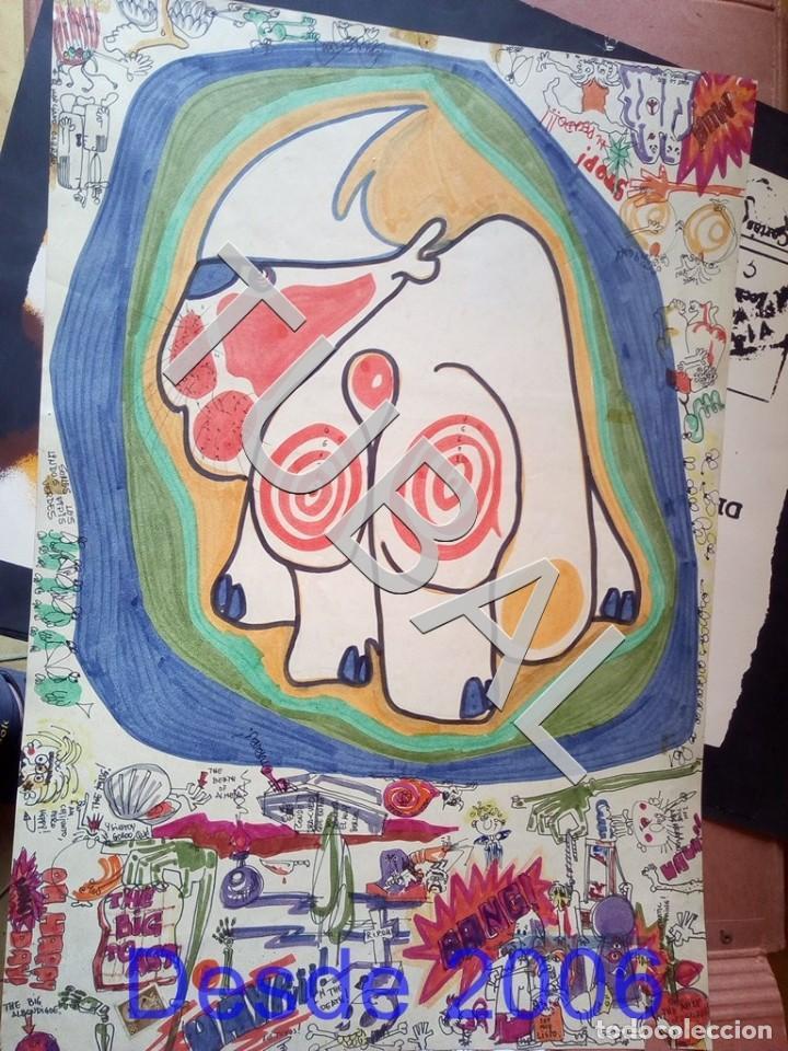 Arte: TUBAL DIBUJO SURREALISTA DE RAFAEL DE COZAR 1973 FONDO LIBRERIA FULMEN SEVILLA GRUPIC - Foto 9 - 166690673