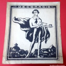 Arte: DIBUJO - TINTA - 1920. Lote 166941640
