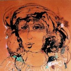 Arte: PINO LA VARDERA, PRECIOSA PINTURA FIRMADA.. Lote 167099997